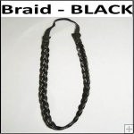Braid Head Band - Black