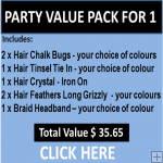 Party Value Pack For 1 Person - Comes Gift Wrapped